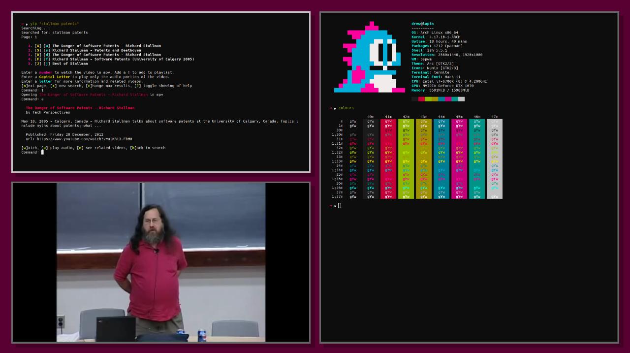 Uoniss Evernou (@uoou@linuxrocks online) - LinuxRocks Online