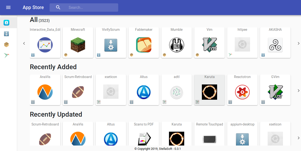 Linux Linux App Store A New Website To Easily Find App Linuxrocks Online