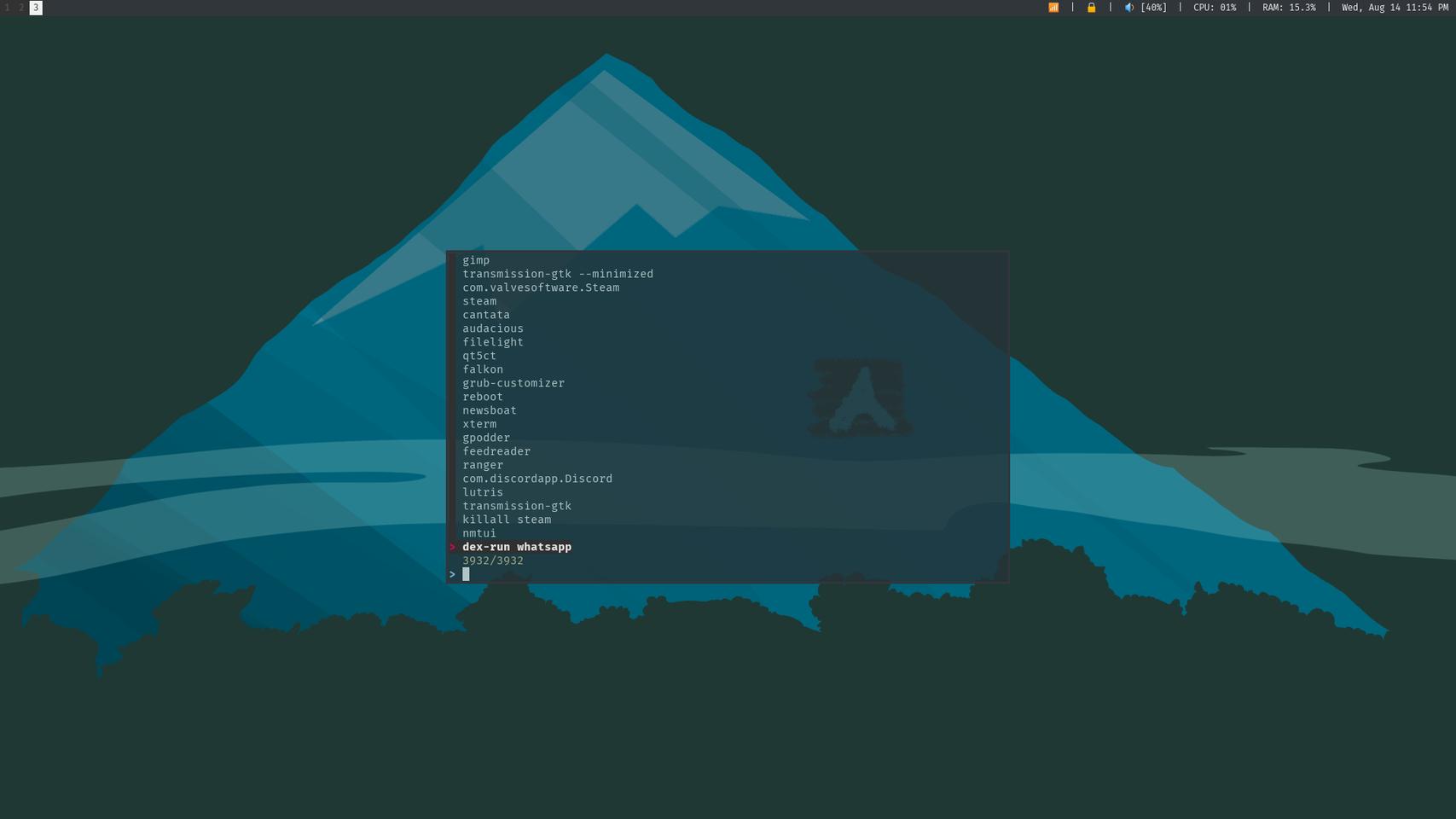 AN3223 :archlinux: (@an3223@linuxrocks online) - LinuxRocks